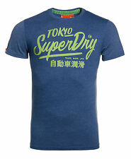New Mens Superdry Factory Second Ticket Type Entry T-Shirt Ensign Marl