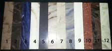 "Corian Sheet Stock 1/2""x1.5""x8.25"" Knife Scales,Pen Blanks,inlays,Nuts & Saddles"
