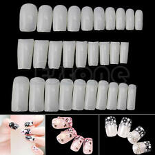 500Pcs Natural False Acrylic French Style Artificial Nail Tips False Nails Tips