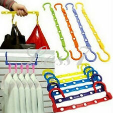 Useful 5-Hole Space Saver Wonder Magic Hanger Hook Closet Organizer CA