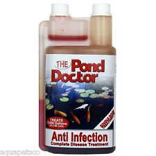 T.A.P POND DOCTOR ANTI INFECTION WATER TREATMENT KOI FISH POND WOUND ULCER