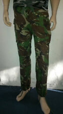 Used Ex-Military Issue British Army Woodland Camo Camouflage Combat Trousers
