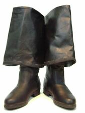 Caribbean Pirate Renaissance Style Boots in Leather