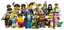 2014 Lego series 12 MiniFigures MiniFigure You Pick Spooky Girl Pig Miner 71007