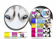 HUSKY Gift Pack for Dry Siberian Husky Noses, Rough Paws and Discomforts