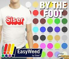 "Siser Easyweed Heat Transfer Vinyl Material for TShirts 15"" x 1 foot - 59 COLORS"