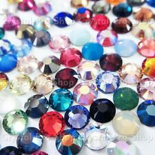 ss10 Genuine Swarovski ( NO Hotfix ) Crystal FLATBACK Rhinestones 10ss 3mm set1
