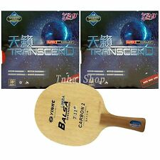 Galaxy T-11+ with 2xRITC729 Friendship TRANSCEND CREAM for a table tennis racket