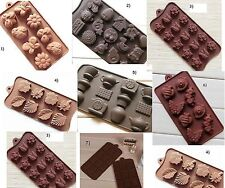 DIY Silicone Ice Cube Chocolate Cake Cookie Cupcake Soap Candy Molds Mould Mold