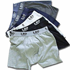 3 Pack: Leo Poldo™ Comfort 100% Cotton Trunks Boxer Briefs - Assorted Colors