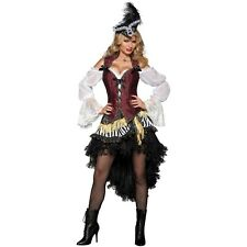 Sexy Pirate Costume Women Adult Halloween Fancy Dress