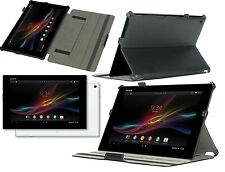 Stong-Hold Real Leather Case / Cover for the Sony Xperia Tablet Z and Z2 SGP511