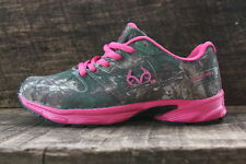 Realtree Outfitters Cobra Jr Girls Tennis Shoes with Realtree AP Camo & Hot Pink
