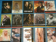 Promo Trading Cards; True Blood,Game Of Thrones,Serenity,Arrow,Sleepy Hollow,TV