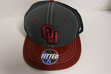 University of Oklahoma Crimson, Gray Black Cap Various All Unisex Adult Zephyr