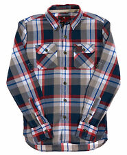 New Mens Superdry Lumberjack Twill Shirt Trailblazer Red Check