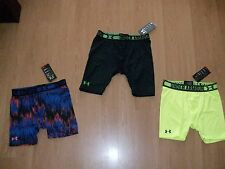 Under Armour Boys' Heat Gear Sonic 4 OR 7 Inch Fitted Shorts, MSRP $19.99-$24.99