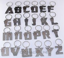 New Universal Studios Transformers Autobots initial Letter Keychain - YOU CHOOSE