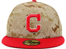 Official MLB 2014 Cleveland Indians Memorial Day New Era 59FIFTY Fitted Hat