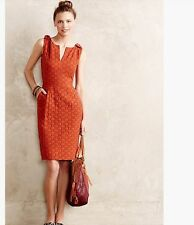 Anthropologie Quilted Tema Dress ByTabitha Sleeveless Dress SZ 2,4,6,12 NWT $158