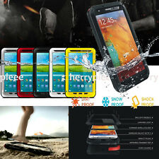 Aluminum Aluminium Water Dirt Shock Proof Hard Protective Case Cover for Samsung
