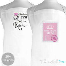 Personalised Mothers day Kitchen Apron - Cooks Aprons For Mum, Nan & Gran -