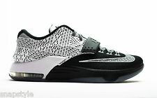 New NIKE KD VII BHM - 718817 010 - Black/White-Wolf Grey Kevin Durant Basketball