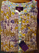 NWT $178 J.Crew Popover in Liberty Mixed Floral 4 Women Liberty Floral Shirt Top