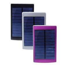 Portable 30000mAh Solar Dual USB Panel Battery Power Bank Charger For Cell Phone