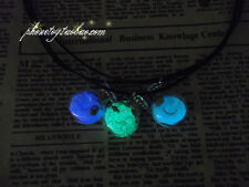 The Wishing bottle  Glow in the Dark Pendant Necklace - Valentine Day gift