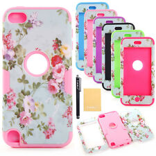 Pretty Flower Impact Hard Soft Silicon Cover Case for iPhone iPod Samsung Galaxy