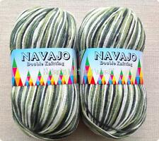 Arizona Graze - Mix Navajo Double Knitting Yarn / Wool