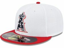 MLB 2013 Los Angeles Angels Anaheim July 4th Stars Stripes New Era 59FIFTY Hat