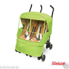 Manito Elegance Alpha Twin Stroller Weather Shield / Rain Cover Eye-Protective