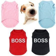 Cute Pet Dog Puppy Clothes Summer T Shirt Cotton Vest Apparel Costumes Coat Tops