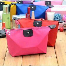 NEW Travel Make Up Cosmetic Pouch Bag Clutch Handbag Casual Purse Waterproof H