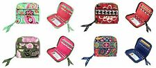 Vera Bradley Compact Zip Around Wallet ~ 8 Great Styles Available ~ FREE SHIP!!!