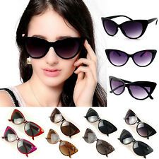 Eyewear Womens Retro Vintage Shades Fashion Oversized Frame Designer Sunglasses