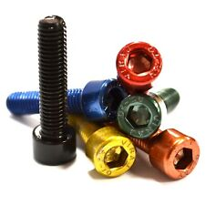 M8 GWR Colourfast® Cap Head Screws - A2 Stainless Steel - Coloured Socket Bolts