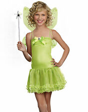 Teen Tinkerbell Fairy Princess Perfect Pixie Kids Party Costume Set M-L