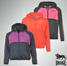 Ladies Branded Lonsdale Jacket Water Resistant Hooded Coat Size 8 10 12 14 16 18
