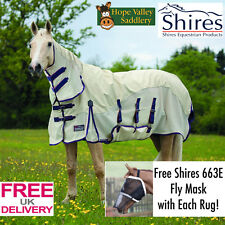 Shires Performance MAXI flusso COMBO Fly Tappeto (9434c) ** libero Shires Fly Maschera **