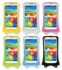 """NEW DiCAPac Iphone 6 Galaxy S5 5.1"""" Universal Waterproof Smartphone Case WP-C1S"""