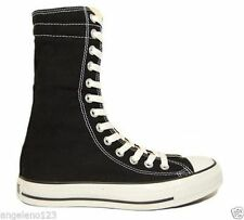 Converse Women's All Star XHi Shoes Fashion Sneakers Canvas Black Medium Flat