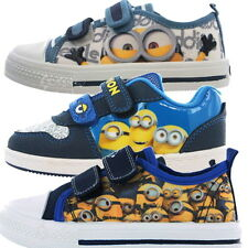 Despicable Me Minions Trainers Boots Show Sizes 6-1 Canvas Boys Girls