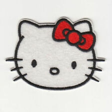 Wholesale-10/50/100pc Embroidered Iron/Sew on Patches Hello Kitty Applique 03#