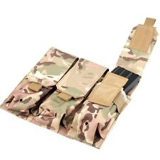 Tactical PALS MOLLE AR M4 5.56/.223 Triple Magazine Pouch Mag Holder Bags