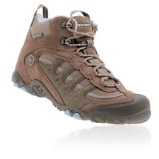 Hi-Tec Penrith Mid Womens Brown Waterproof Outdoor Trail Walking Boots Shoes