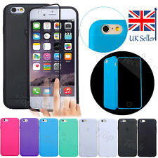 """Ultra Thin TPU Rubber Gel Silicone Full Flip Case Cover for iPhone 6 Plus 5.5"""""""