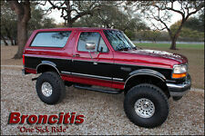 Ford : Bronco Two Tone Factory XLT